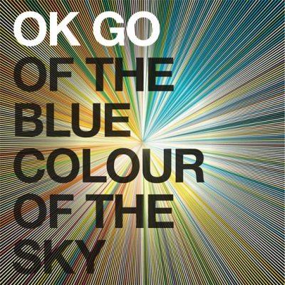 OK GO Album Cover, gestaltet von Stefanie Posavec