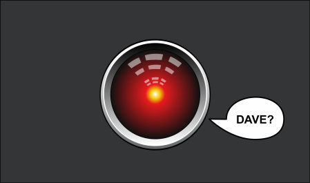 Fig. 10: HAL 9000's appeal to Dave