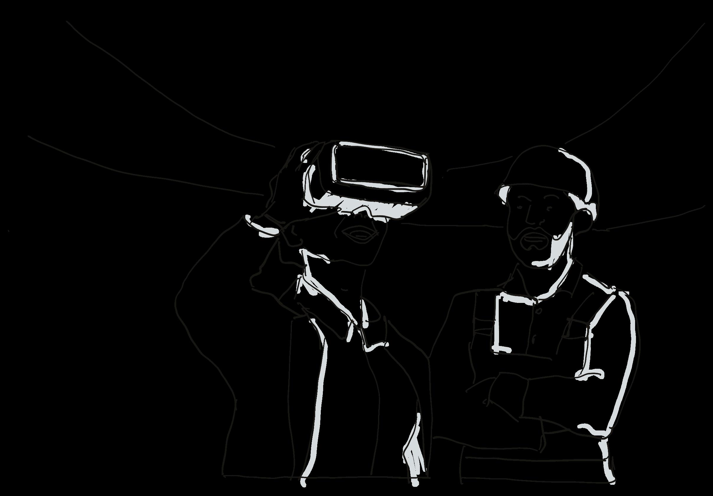 Remote-Presence-Szenario der Firma Avatour.